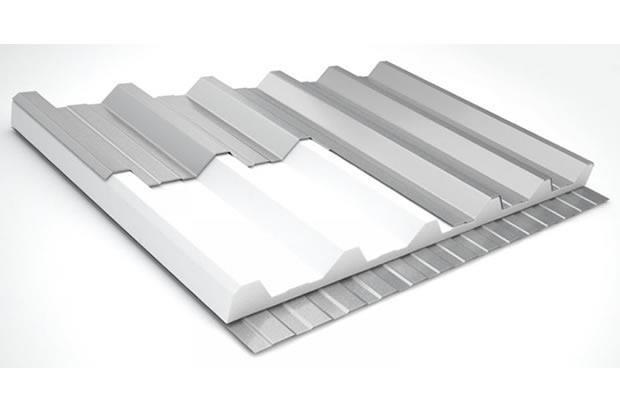 Telha de alumínio galvanizado